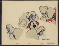 Cruella De Vil, Original Cel Created by Marc David