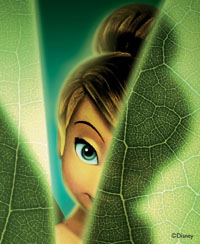 Tinker Bell - Behind The Leaf